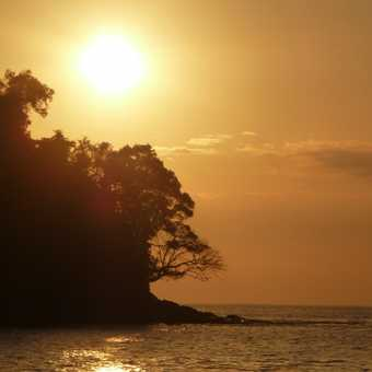 Sunset at Manuel Antonio