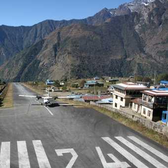 Lukla runway