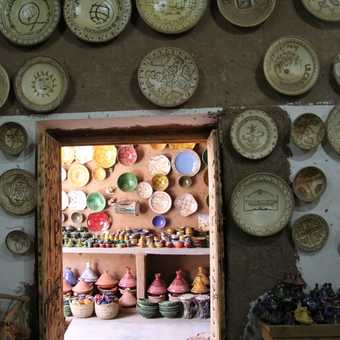 pottery at tamegroute