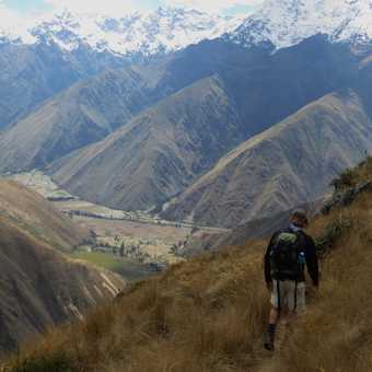 The Sacred Valley from the trail