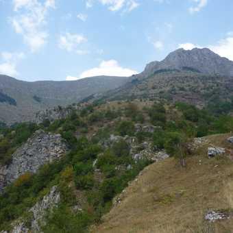 Scenery in the Rakitnica Canyon