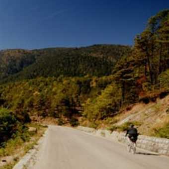 Descending near Jade Mountain