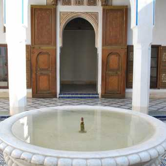 A palace in Marrakech