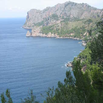 Day 5: view on the walk to Cala Tuent