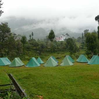 Campsite at Yoksum - leech city!