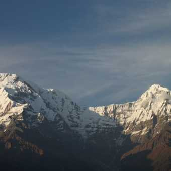 Mountains in Annapurna Region