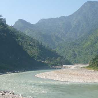 Deep gorges on way to Pokhara