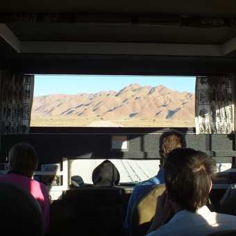 The views from the truck felt like we were watching  a film