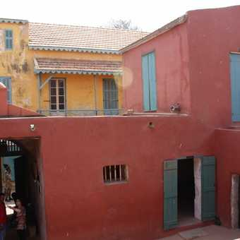 Maison d'esclaves on Goree Island