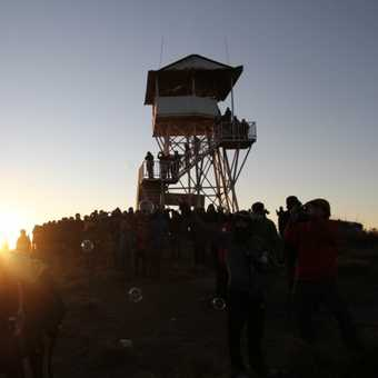 Bubbles at dawn over Poon Hill
