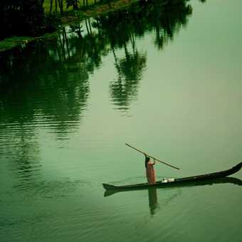on the backwaters