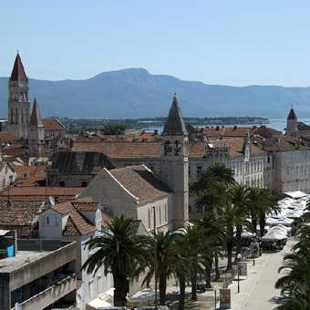 Trogir viewed from the Venetian fort