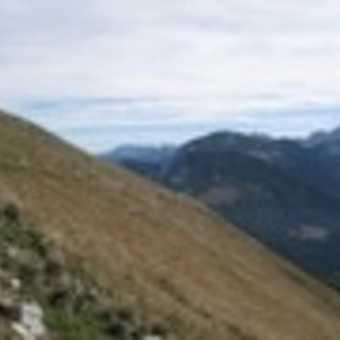 view of Triglav etc