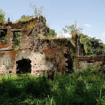 Bunce island - one of the most important slave castles in West Africa.