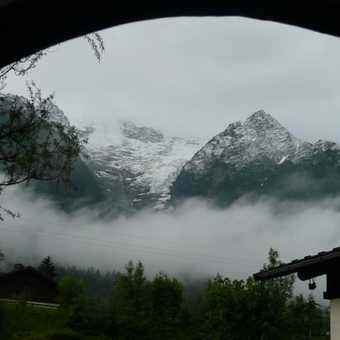 Waking up on the first morning - cloudy & dull:(