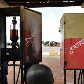 Petrol Station - Salone style