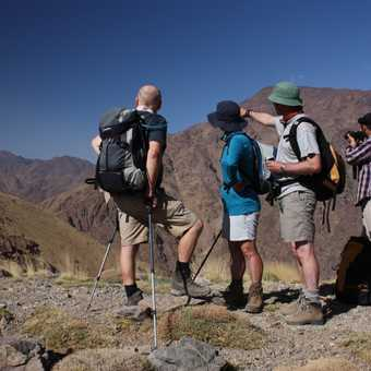 seeing Toubkal for the first time