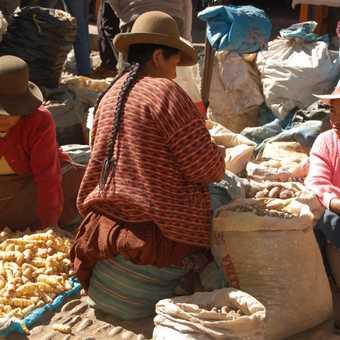 Market at Pisac