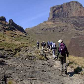 Hiking in the Drakensburg