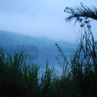 Early morning Lake Bunyoni Uganda