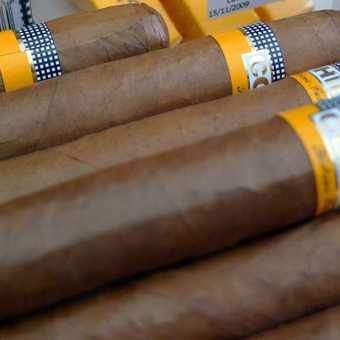 Fidel's favourite cigar