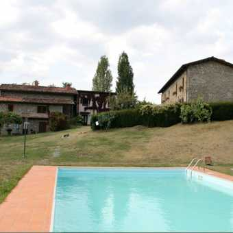 Braccicorti Pool and House