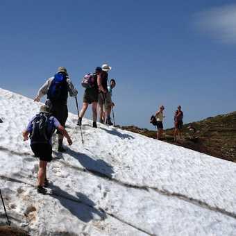 Ascent to Monte Prado