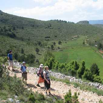 Doline o nthe descent from Aitana