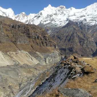Looking toward Gandharba Chuli - A.B.C.