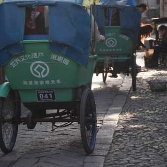 Tongli rickshaw