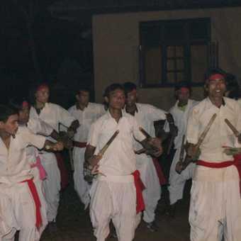 Dancers of Chitwan