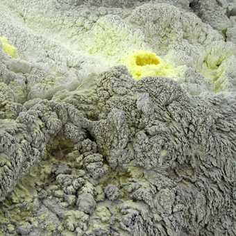 Sulphur Deposits, Sierra Negra