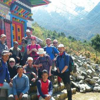 The trek reaches Lukla - at last
