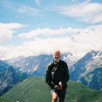 towards Mt Blanc
