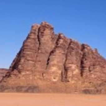 '7 Pillars' Panorama, Wadi Rum