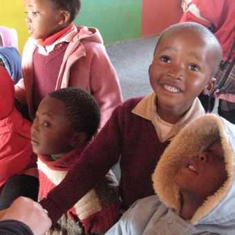Lesotho schoolchildren