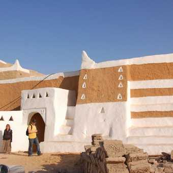 One of the gates of Ghadames