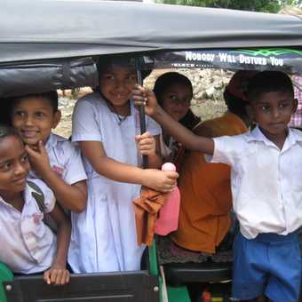 Curious/cheerful children
