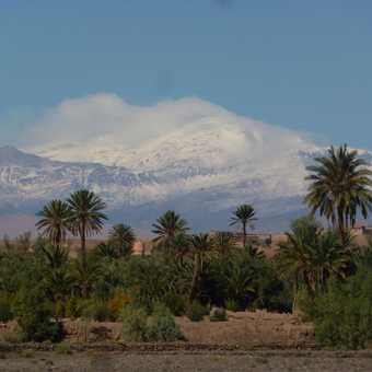 An early glimpse of the High Atlas