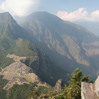 WIEW FROM WAYNA PICCHU