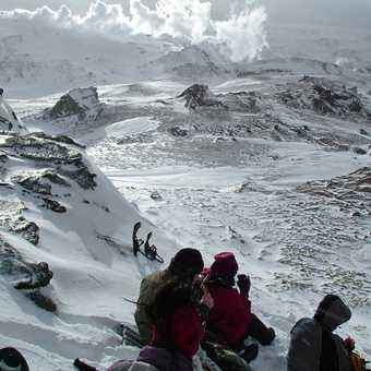 Lunch on a volcano - Mt Hekla