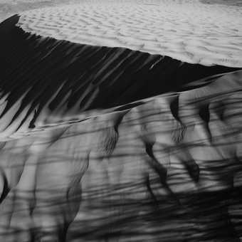 Shadows on the dunes