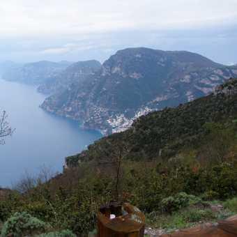 Capri in the mist