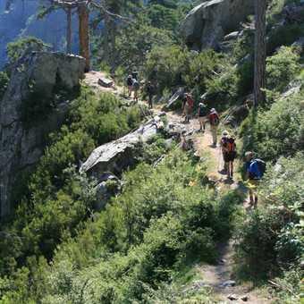 The beautiful lower Tavignano gorge