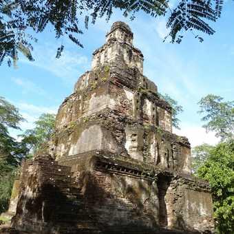 Temple Ruins at Polonnaruwa