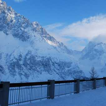 Looking over to Mont Blanc