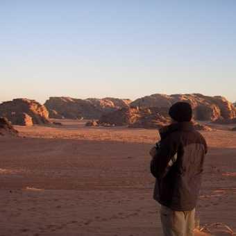 Early morning in Wadi Rum