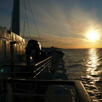 Sunset and Lofoten