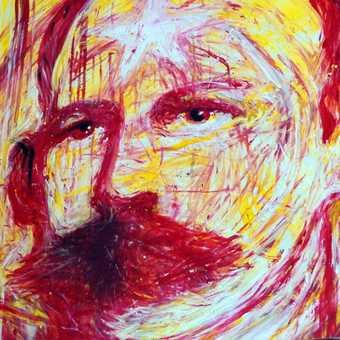 Painting of José Martí