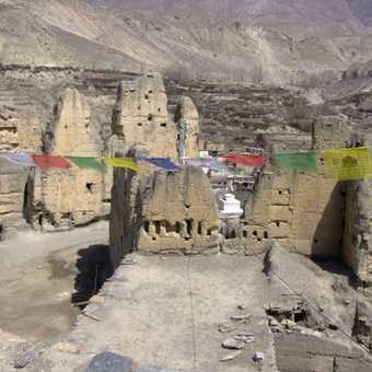 Ruins of castle-Jharkot